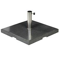 Granite umbrella stand, 70 KG, angular
