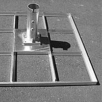 Steel frame stand XXL/STB