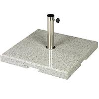 Marble umbrella stand, 75 KG, angular